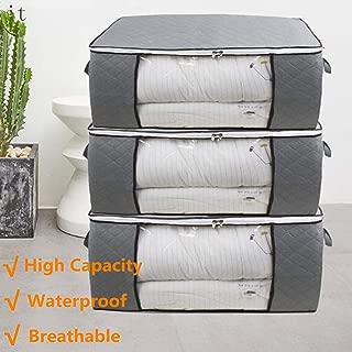 mDesign stapelbarer Kleiderbox Schrank-Aufbewahrungsbox mit Deckel die praktische Klamottenkiste