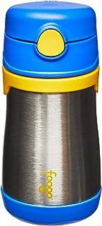 Garrafinha Térmica Foogo 290 Ml, Thermos, Azul / Amarelo