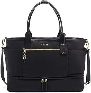 Voyageur Cleary Weekender Duffel Bag - Travel Laptop Satchel for Women - Black