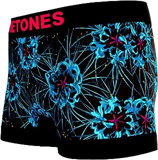 BETONES (ビトーンズ) メンズ ボクサーパンツ SADE BLUE dwearsステッカー入り ローライズ アンダーウェア ボーダー ブランド 囚われのパルマREFRAIN