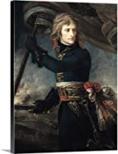 GREATBIGCANVAS Gallery-Wrapped Canvas Entitled General Bonaparte (1769-1821) On The Bridge at Arcole, 17th November 1796 by Baron Antoine (1771-1835) Gros 23