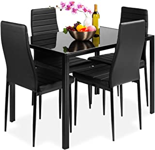 Best Choice Products 5-Piece Kitchen Dining Table Set for...