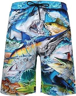 Camouflage Boardshorts Seaside Mens Tropical Swim Trunks Quick Dry Beach Board Shorts Fashion Short Beach Pants