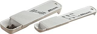 KitchenArt 14100 Adjust-A-Teaspoon And Adjust-A-Tablespoon Set, Plastic, 2-Piece, White