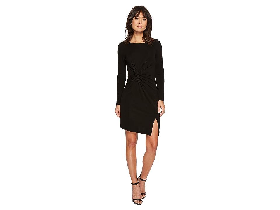 Karen Kane Isabella Side-Twist Dress (Black) Women