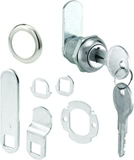 Defender Security U 9941KA Prime Line U-9941Ka Cam Lock, 2 Key, Die Cast Stainless Steel, 5/8