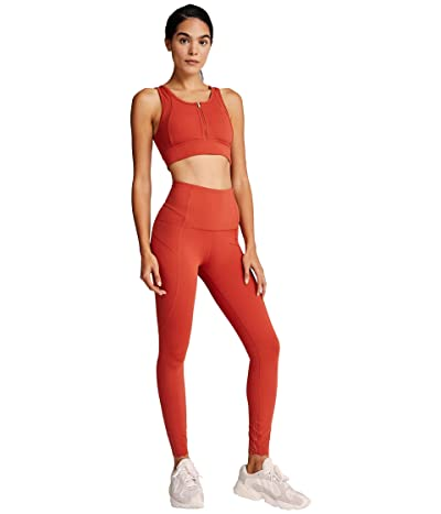 Varley Wesley Leggings (Spiced Red) Women