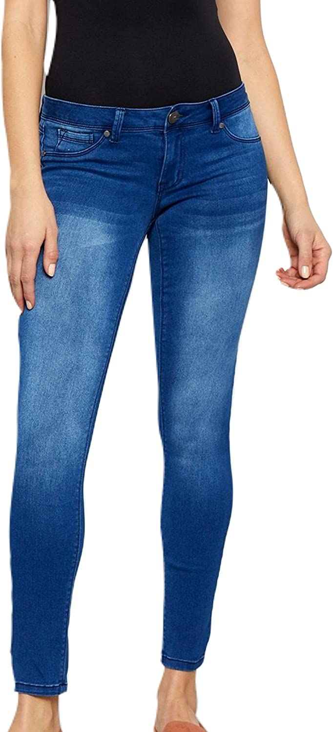 1822 Women's Classic Mid-Rise Butter Skinny Jeans in Donna