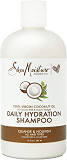 SHEA MOISTURE Virgin Coconut Oil Daily Hydration Shampoo, 384 ml, 13 Ounce (U-HC-12197)