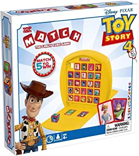 Top Trumps 4 Match Toy Story. Juego de Mesa, color multiple, talla única (Winning Moves 033428)