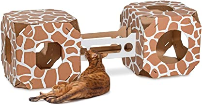 product image for Cat Amazing STACKS! - Modern Cat Condo & Modular Cat Tree - House & Tunnel Cubes for Cats - Made in USA