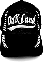قبعات بيسبول سوداء مطرزة بشبكة كلاسيكية من أولد سكول أوكلاند