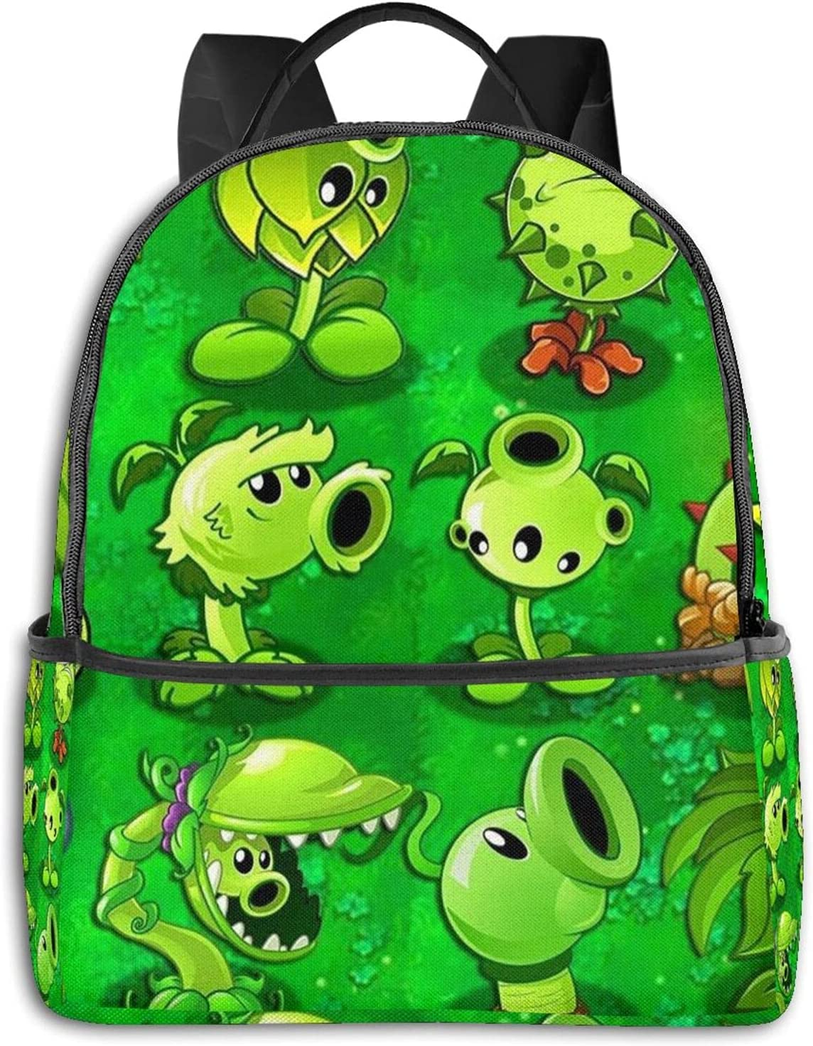Plants-Vs-Zombies Young Men And Women Popular shop is the lowest price challenge Travel Backpack School Bag It is very popular