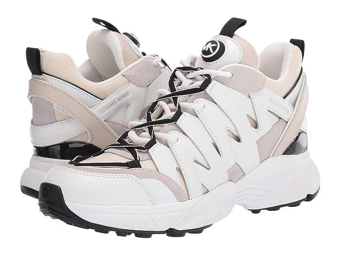 MICHAEL Michael Kors  Hero Trainer (Ecru Multi) Womens Shoes