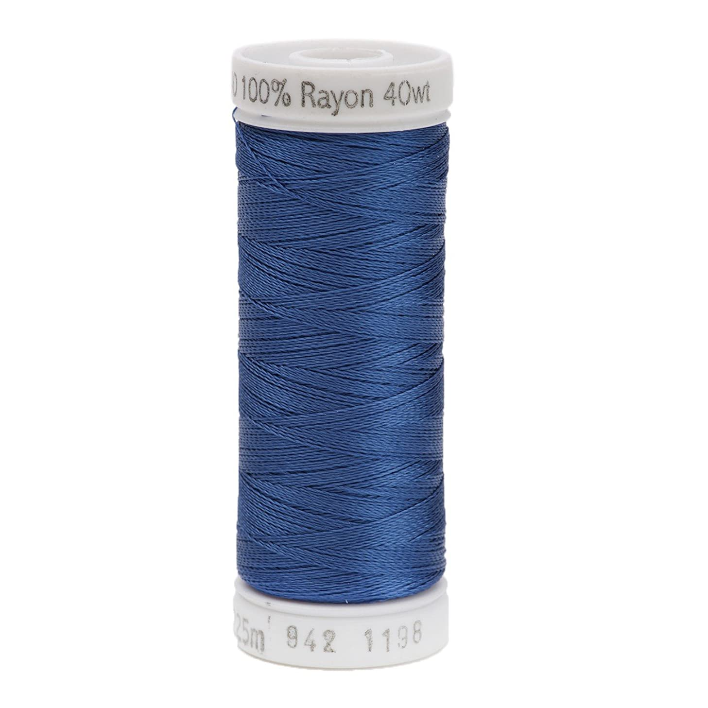 Sulky 942-1198 Rayon Thread for Sewing, 250-Yard, Dusty Navy