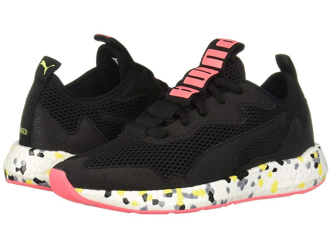 [プーマ] レディースランニングシューズ?スニーカー?靴 Nrgy Neko Skim Multi Black/Yellow Alert/Pink Alert 8 (24.5cm) B [並行輸入品]
