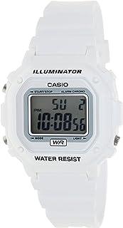 ساعت مچی سفید رنگ زنانه/مردانه مدل F108WHC-7BCF محصول برند Casio.