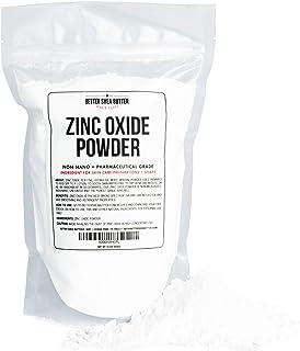 Zinc Oxide Powder 1 lb - Uncoated & Non-Nano - 100% Pure, Pharmaceutical Grade - For DIY Sunscreen, Lotion, UVA and UVB pr...