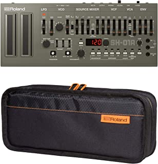 Roland SH-01A Sound Module Boutique Synthesizer with CB-BRB1 Black series Boutique Carry bag