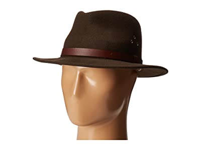 Country Gentleman Dickens Fedora Hat (Khaki) Caps