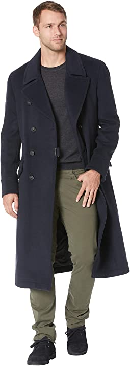 Double Breasted Military Coat O1744U3