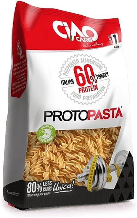 Protopasta stage 1 250 gram (5x50 gram) fusilli B073T713Y3