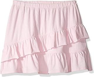 Amazon/ J. Crew Brand- LOOK by crewcuts Girls' Knit Ruffle Skirt