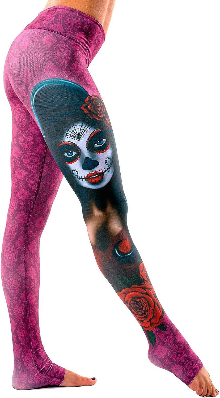 Body Angel Activewear Women's La Lupita Leggings Activewear Yogawear Small Medium