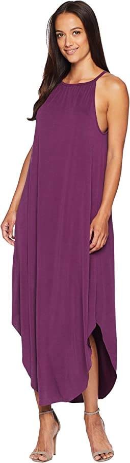 Mckenna High Neck Sandwashed Dress