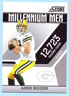 Aaron Rodgers 2011 Score Millennium Men #1 - Green Bay Packers