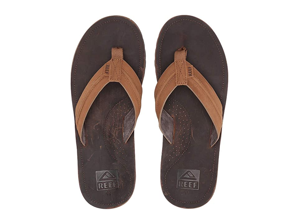 Reef Voyage Lux (Dark Brown/Light Brown) Men