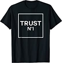 Urban style Trust Nobody Trust No 1 One T-shirt