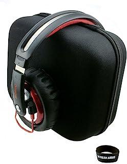 【FEN-G01】 ヘッドホン キャリングケース 長さ23cm×幅20cm×高10cm ビッグサイズのヘッドフォンも楽々収納 ※ウレタン無し ゼンハイザー/HD700 HD650,AKG/K550、K701 K612 PRO 等に対応!【タイプA】