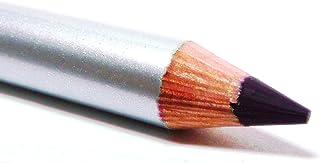 Pure Ziva Midnight Eggplant Plum Violet Dark Matte Purple Red Wood Eyeliner Pencil, Sharp Line Glides on Easily HD Profess...