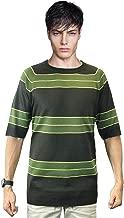 OEM Kurt Cobain Sweater Green Striped Shirt Costume Nirvana Smells Like Teen Spirit