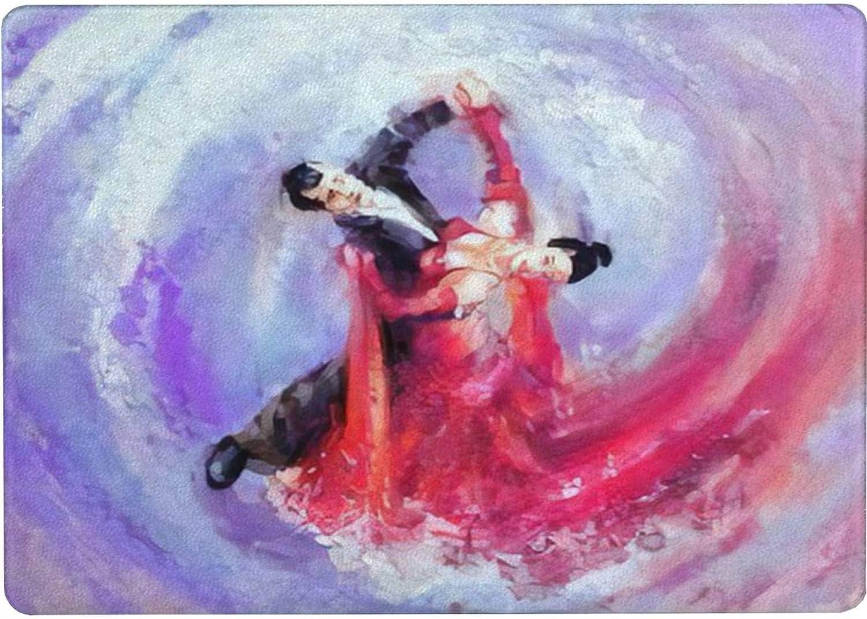 Tempered Glass Cutting Board waltz Award painting dancers walt New Orleans Mall digital