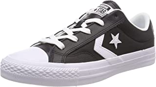 Converse Star Player Ox Black/White/White, Unisex Adults' Trainers