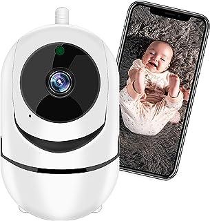 Câmera de Segurança WiFi XFTOPSE Monitoramento 360º 1080P HD Camera IP Sem Fio com Áudio Bidirecional, Detecção de Movimen...