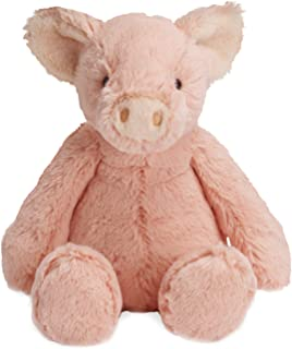 "Manhattan Toy Lovelies Pink Piper Pig Plush, 12"""