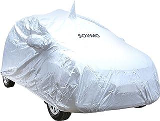 Amazon Brand - Solimo Hyundai Eon UV Protection & Dustproof Car Cover (Silver)