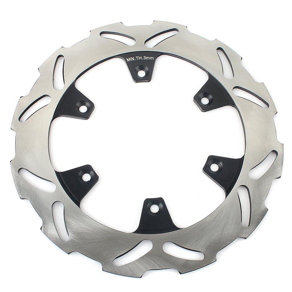省略シャツ平方TARAZON リア ブレーキ ディスクローター ブレーキローター ステンレス鋼 品質抜群 対応車種 Kawasaki KX125 KX250 KX500 KDX200 KLX300R 97-07 KLX650R