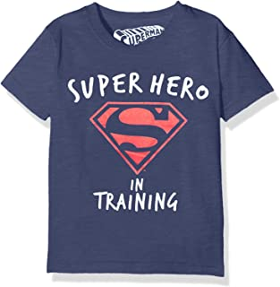 DC Comics Boy's Superman Training T-Shirt