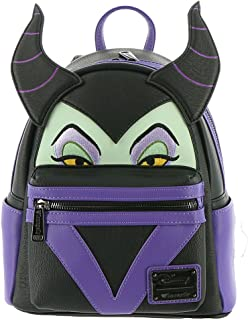 Loungefly Maleficent Faux Leather Mini Backpack Standard