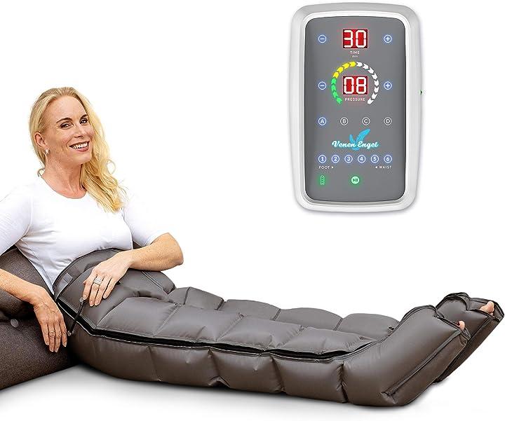 Dispositivo di massaggio mobile con pantaloni, funzionamento a batteria, 6 camere d`aria disattivabili VE-077