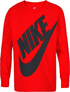 NIKE Children's Apparel Boys' Long Sleeve Sportswear Graphic T-Shirt