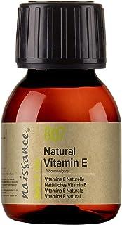 Naissance Vitamina E n. º 807 (Aceite) – 60ml - Natural vegana libre de hexano y no OGM.