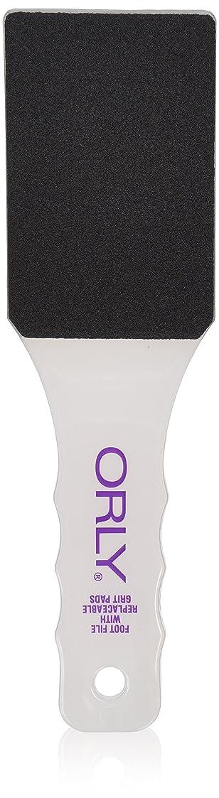 マルコポーロジレンマ前任者ORLY - Foot File w/Replaceable 80 & 150 Grit Pads - Dual Sided + Sanitizable