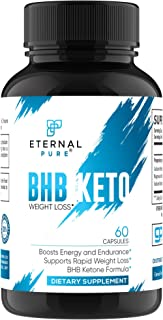 Keto Diet Pills Advanced Formula - Complete Keto Carb Blocker & Appetite Suppresant by Eternal Pure