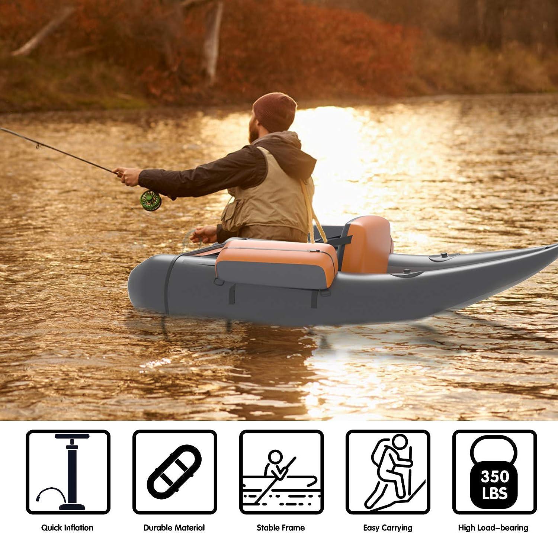 71KILa5DNDL. AC SL1500 Goplus Inflatable PVC Boat Reviews