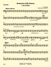 Romanian Folk Dances, Sz.68: cello part